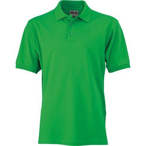 Polo classique Homme - vert fougère
