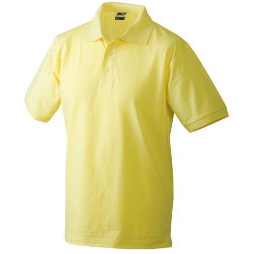 Polo classique Homme - jaune clair