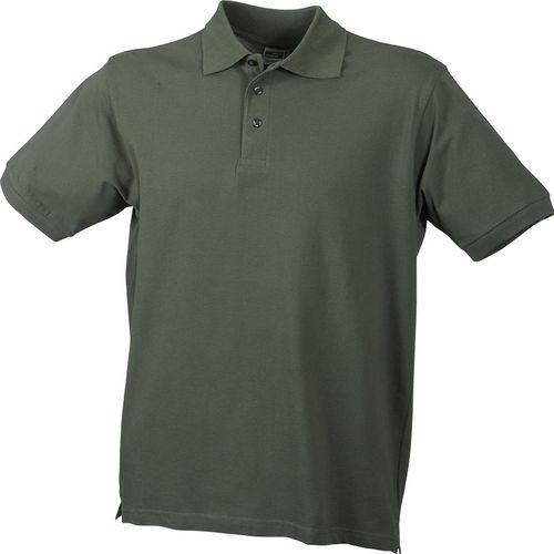Polo classique Homme - olive