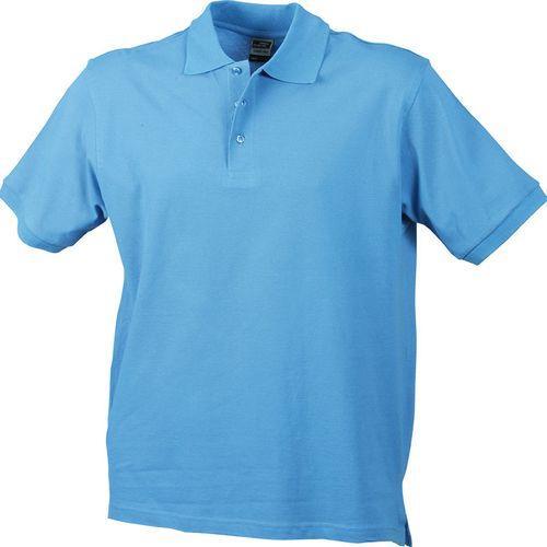 Polo classique Homme - bleu aqua