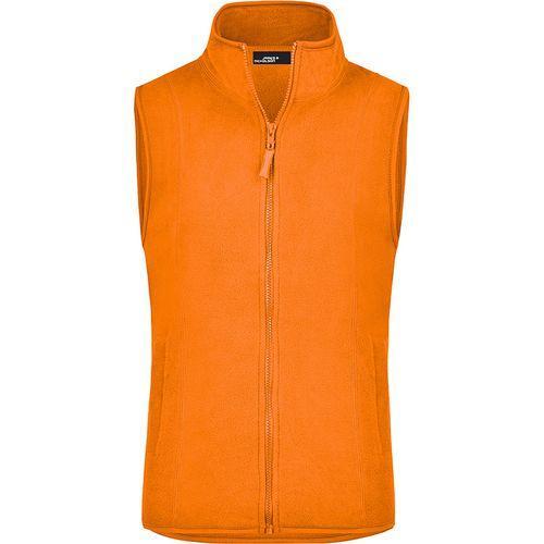 Bodywarmer polaire Femme - orange