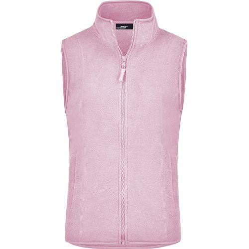 Bodywarmer polaire Femme - rose clair