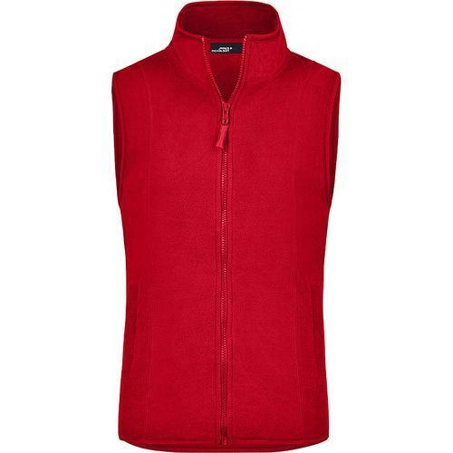Bodywarmer polaire Femme - rouge