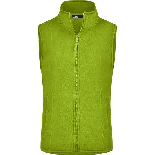 Bodywarmer polaire Femme - vert citron
