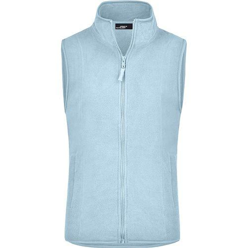 Bodywarmer polaire Femme - bleu clair