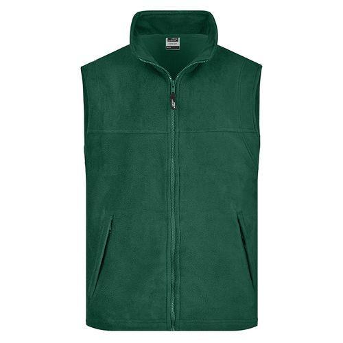 Bodywarmer polaire Homme - vert foncé