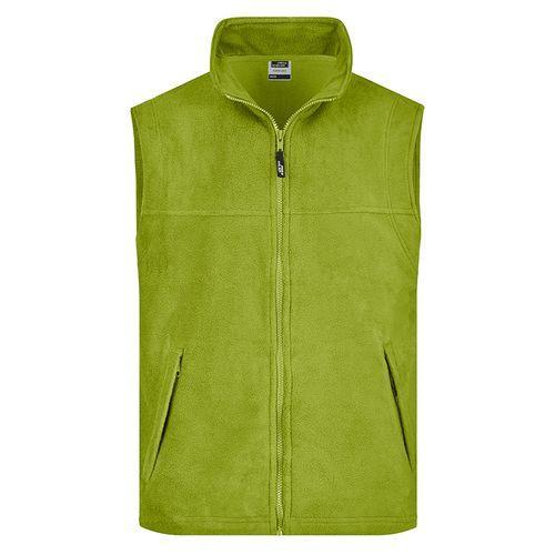 Bodywarmer polaire Homme - vert citron