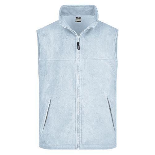 Bodywarmer polaire Homme - bleu clair