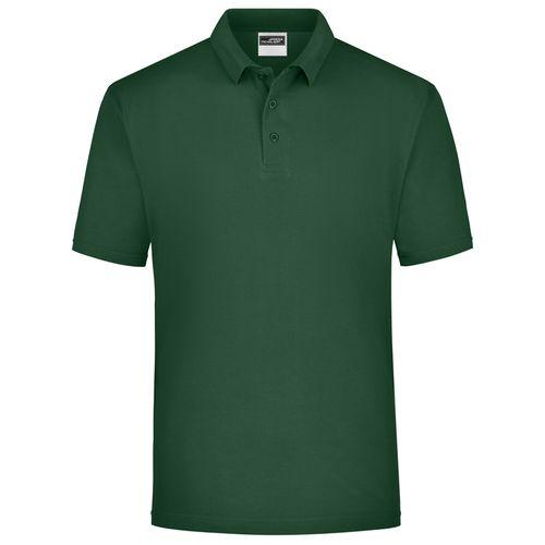 Polo classique Homme - vert foncé