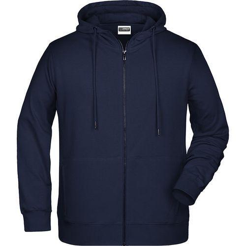 Sweat-shirt capuche Homme - bleu marine