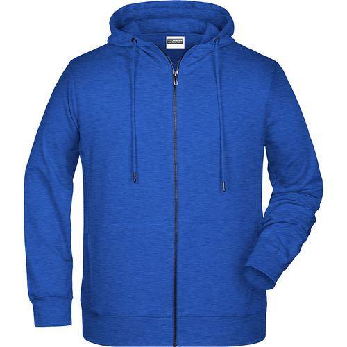Sweat-shirt capuche Homme - bleu foncé mélangé