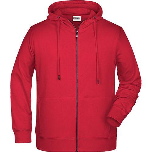 Sweat-shirt capuche Homme - rouge