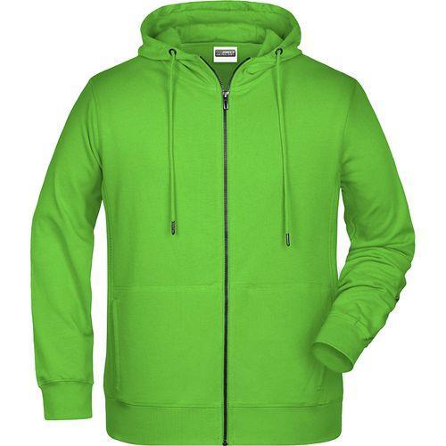 Sweat-shirt capuche Homme - vert citron