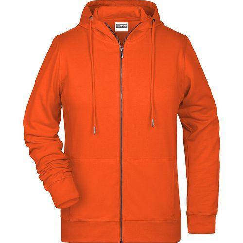 Sweat-shirt capuche Femme - orange