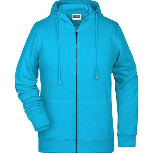 Sweat-shirt capuche Femme - turquoise