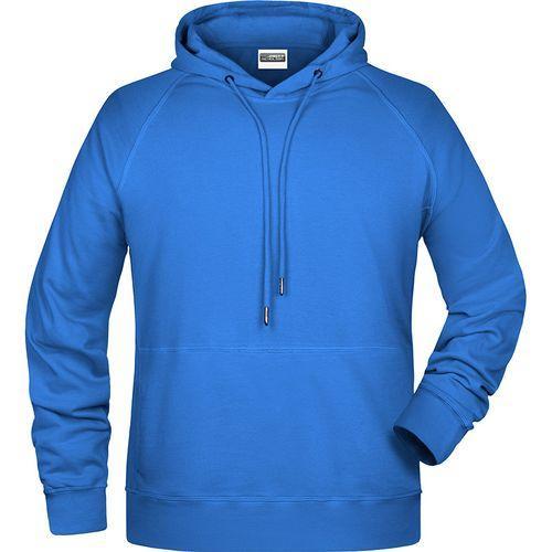 Sweat-shirt capuche Homme - bleu cobalt