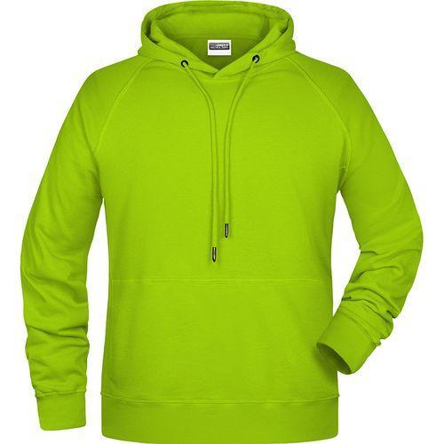 Sweat-shirt capuche Homme - jaune acide