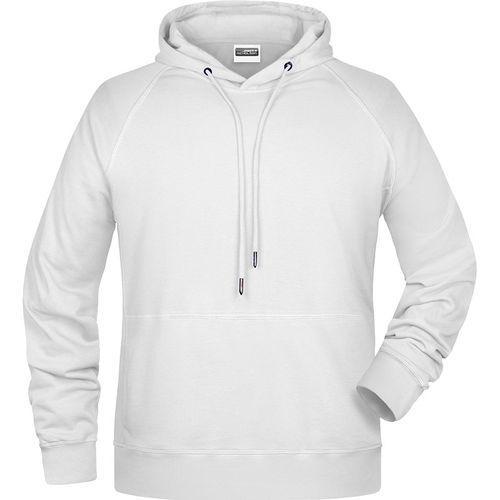 Sweat-shirt capuche Homme - blanc