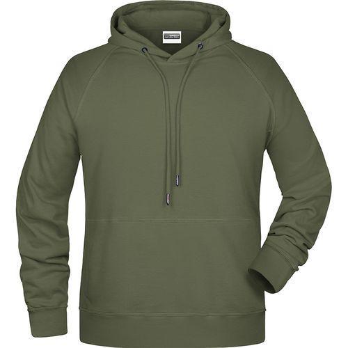 Sweat-shirt capuche Homme - olive