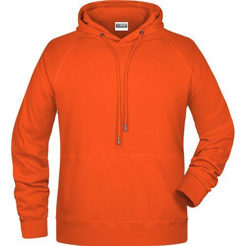 Sweat-shirt capuche Homme - orange