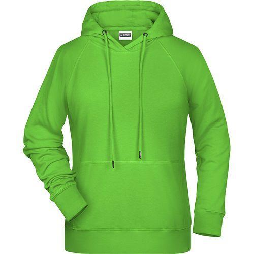 Sweat-shirt capuche Femme - vert citron