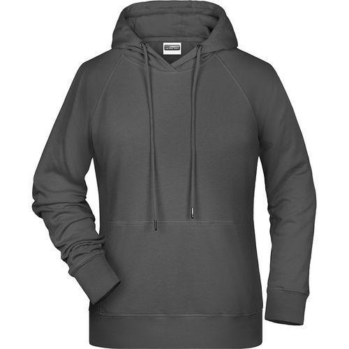 Sweat-shirt capuche Femme - graphite