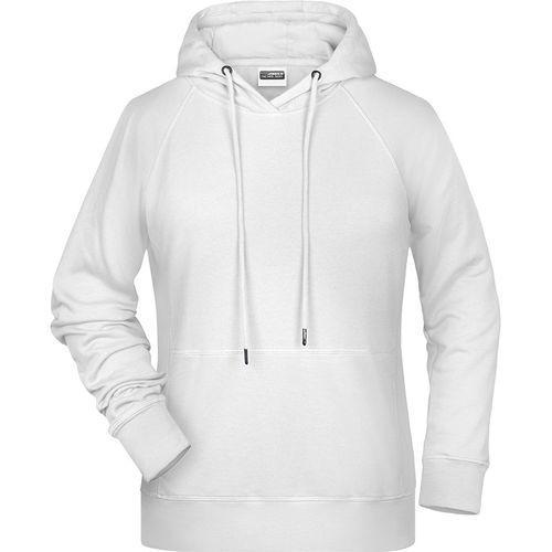 Sweat-shirt capuche Femme - blanc