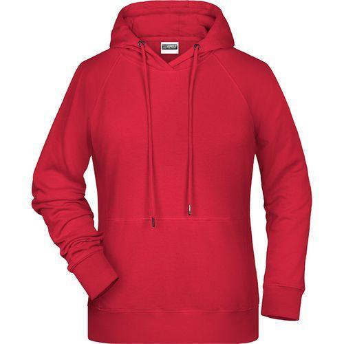 Sweat-shirt capuche Femme - rouge