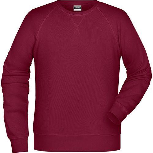 Sweat-Shirt Homme - lie de vin