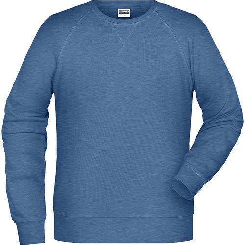 Sweat-Shirt Homme - bleu denim clair mélangé