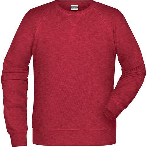 Sweat-Shirt Homme - rouge carmin mélangé