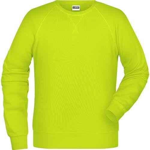 Sweat-Shirt Homme - jaune acide