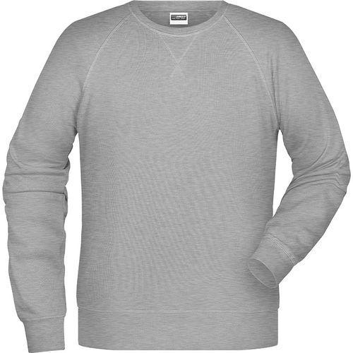 Sweat-Shirt Homme - gris chiné
