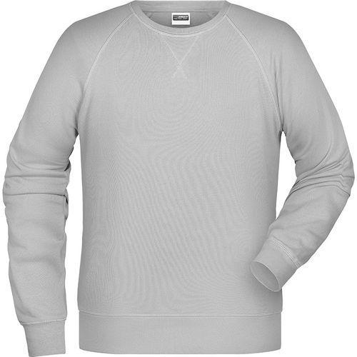 Sweat-Shirt Homme - gris clair chiné
