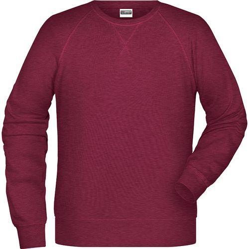 Sweat-Shirt Homme - bordeaux mélangé