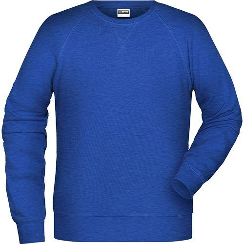 Sweat-Shirt Homme - bleu foncé mélangé