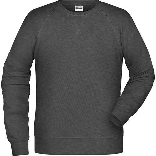 Sweat-Shirt Homme - noir chiné