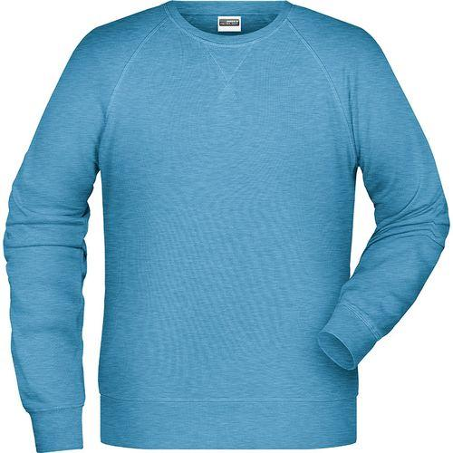 Sweat-Shirt Homme - bleu glacier mélangé