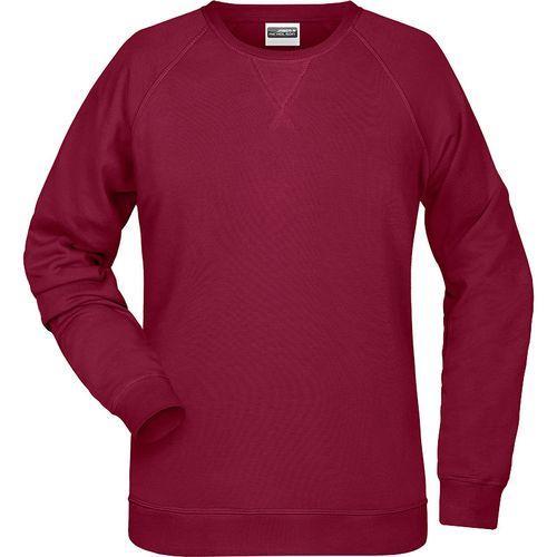 Sweat-Shirt Femme - lie de vin