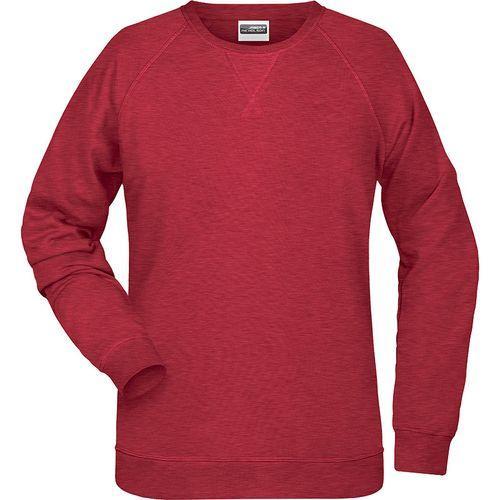 Sweat-Shirt Femme - rouge carmin mélangé