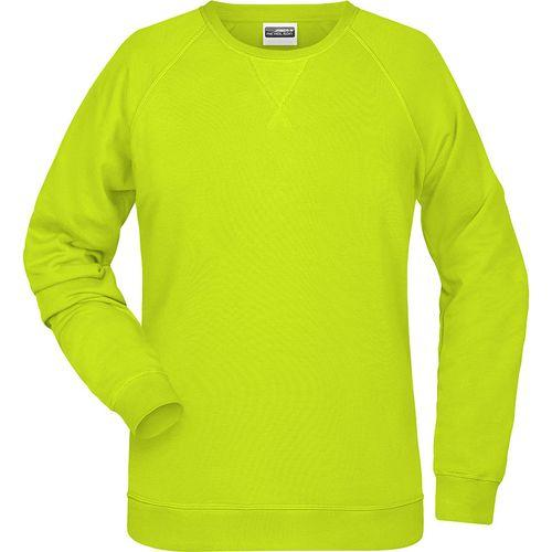 Sweat-Shirt Femme - jaune acide