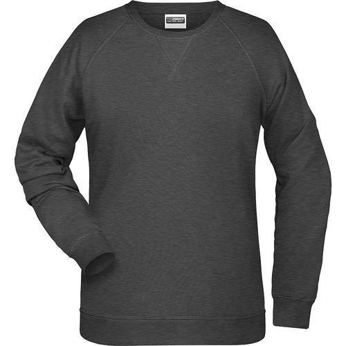 Sweat-Shirt Femme - noir chiné