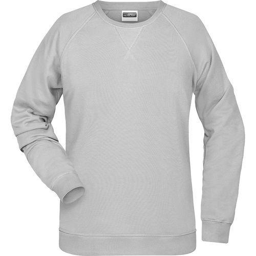 Sweat-Shirt Femme - gris clair chiné