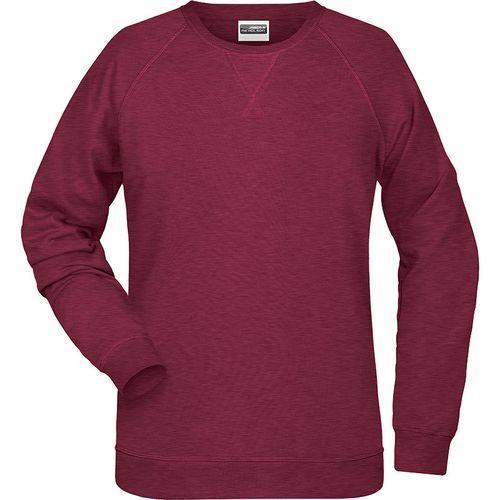 Sweat-Shirt Femme - bordeaux mélangé