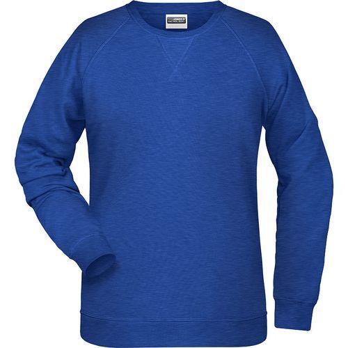 Sweat-Shirt Femme - bleu foncé mélangé