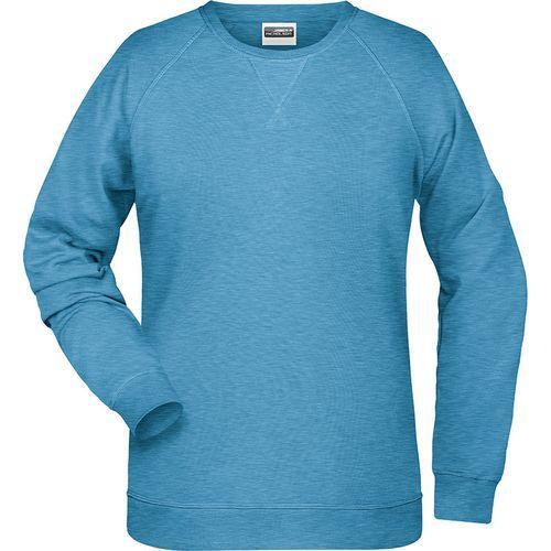 Sweat-Shirt Femme - bleu glacier mélangé