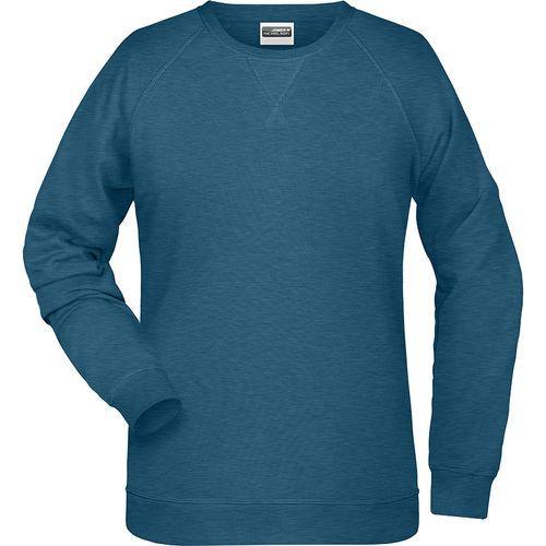 Sweat-Shirt Femme - bleu pétrole mélangé