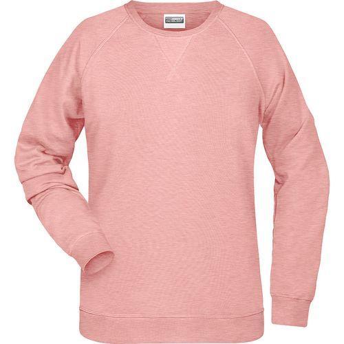 Sweat-Shirt Femme - rose mélangé