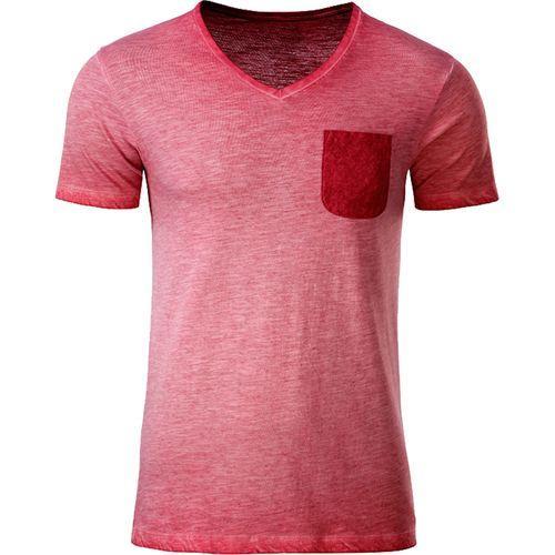 T-shirt bio Homme - rouge piment