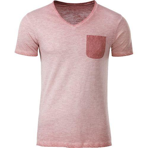 T-shirt bio Homme - rose pastel